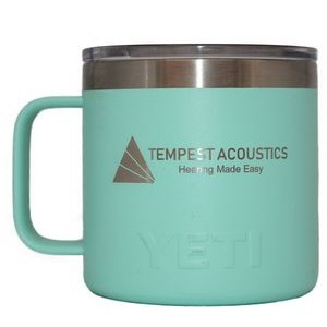 Authentic YETI 14 oz Mug Laser Engraved